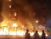 اندلاع حريق فى فرن بلدى ونفوق 6 رؤوس ماشية فى بنى سويف