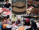 الأيدى الجميلة.. معرض للمشغولات اليدوية بمكتبة الإسكندرية