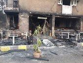 انتداب المعمل الجنائى لمعاينة حريق شب فى مطعم بمصر الجديدة