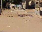 """أهالى قرية """"أكياد"""" التابعة لمركز فاقوس يطالبون بفتح المزلقانات"""