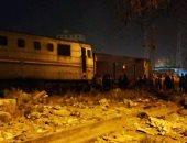 السيطرة على حريق محدود بأحد القطارات فى طوخ دون إصابات