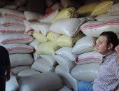 ضبط 44 طن أرز قبل بيعها فى السوق السوداء بأسيوط