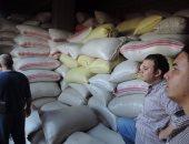 ضبط 32 طن أرز و10 آلاف لتر سولار حجبها تجار عن الأسواق بكفر الشيخ