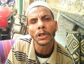 بالصور.. مأساة شاب بطنطا أصيب بالعمى بعد صراع مع المرض