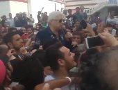 بالفيديو.. مرتضى منصور لجماهير الزمالك : توزيع التذاكر فى الصالة المغطاة