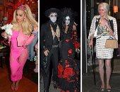 """المجانين فى نعيم..  أشهر ملابس النجوم فى الـ Halloween عبر السنين.. ريتا أورا تتحول لـ BARBIE.. وهيدى كلوم سيدة عجوز وملكة فرعونية.. وشخصية ديمى لوفاتو """"كابوس"""""""