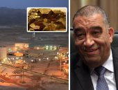 """لأول مرة.. مصر تحصل على 136 مليون دولار أرباحا من منجم السكرى خلال عام.. ودفع 101 مليون دولار إتاوة فى 7 سنوات.. """"الراجحى"""": أرباح الدولة مرشحة للزيادة العام المقبل وإنتاج المنجم يقترب من 100 طن ذهب"""