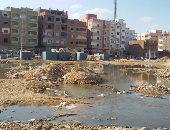 بالصور.. غرق شوارع مدينة السلام 2 بالسويس بمياه الصرف الصحى