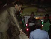 التموين تضبط مخزنا بداخله 40 طن أرز فى المطرية والقبض على صاحبه