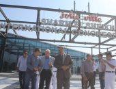 محافظ جنوب سيناء يتفقد القاعة الدولية استعدادا لمؤتمر الشباب