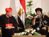 رئيس أساقفة النمسا يلتقى كهنة الإسكندرية ويزور مكتبتها اليوم