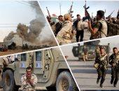 """الجيش العراقى يحرر قضاء """"الحمدانية"""" جنوب شرقى الموصل بمحافظة نينوى"""