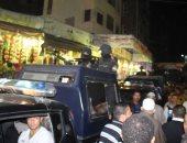 تمشيط منطقة السيد البدوي بسيارات التدخل السريع قبل إحتفالية التهامى