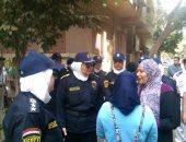 بالصور.. الشرطة النسائية تؤمن مدارس البنات وتضبط 4 حالات معاكسة بالقاهرة