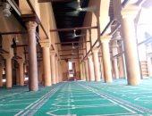 """بالصور.. الإهمال يضرب """"الجامع العمرى"""" أقدم مساجد الصعيد"""