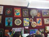 افتتاح معرض للفنون التشكيلية بقصر ثقافة مغاغة