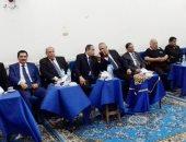 محافظ الشرقية وقيادات الأمن والنواب فى عزاء شقيقة ثروت سويلم