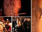 """وزراء السياحة والآثار والثقافة يشاركون فى احتفالية """"تعامد الشمس"""""""