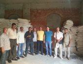 ضبط 2 طن سكر داخل مصنع قبل بيعها بالسوق السوداء فى السلام