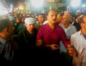 بالفيديو.. لحظة دخول التهامى لساحة البدوى وسط كردون أمنى