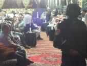 """مدير أمن بورسعيد فى سرادق عزاء الشهيد """"الحسينى"""""""