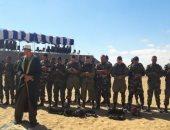 مظليون روس ومصريون يؤدون الصلوات خلال مناورات عسكرية مشتركة