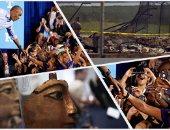 10 صور تلخص أحداث العالم اليوم
