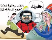 """اضحك على ما تفرج.. نقص السكر والأرز وشائعات فيس بوك فى كاريكاتير """"اليوم السابع"""""""