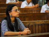 """بالصور.. حضور الناشطة ماهينور المصرى جلسة محاكمة متهمى """"اغتيال النائب العام"""""""