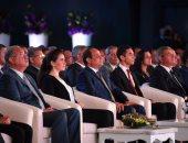 بالفيديو.. الرئيس السيسى: الانتهاء من 1350 مشروعا فى 2018