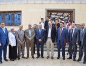 """رئيس معهد فريدريش لوفلر بألمانيا يزور """"كفر الشيخ"""" لتعزيز التعاون المشترك"""