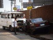 مصرع شخص وإصابة 3 آخرين بحادث تصادم بشبين القناطر