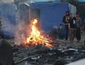 السلطات الفرنسية تبدأ إزالة مخيم الغابة فى شمال فرنسا