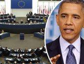 الأوروبيون يرفعون الكارت الأحمر لحلفائهم فى أمريكا.. استمرار تعليق اتفاقية التجارة الحرة مع واشنطن.. إقليم بلجيكى يرهن العلاقات التجارية الأوروبية مع كندا.. واستمرار الغموض بشأن اتفاقيتى TTIP وceta