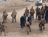 """بالصور.. جون سنو يتحالف مع أم التنانين فى الجزء الـ7 من """"Game of thrones"""""""