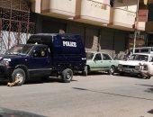 حبس مسجل خطر سرق سيارة شرطة وأخفاها بالمنطقة الجبلية بالصف