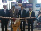 وزير الطيران يتفقد جناحى مصر للطيران على هامش مشاركته بمؤتمر الشباب
