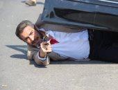 """أول صور للنجم أحمد عبد العزيز من مسلسل """"الأب الروحى"""""""