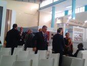رئيس الوزراء الجزائرى وشخصيات دبلوماسية يفتتحون معرض الكتاب بالجزائر