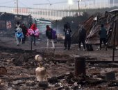 العثور على جثة لاجئ أفغانى فى طريق ميناء كاليه بفرنسا