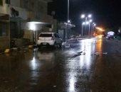 """إعادة فتح طريق """"سفاجا - قنا"""" بعد توقف سقوط الأمطار والسيول"""