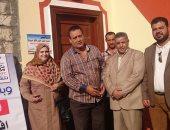 افتتاح قرية البنزينة وتسليم 30 منزلا بالدقهلية