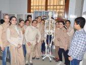 بالصور.. تلاميذ مدرسة أحد عرابى فى زيارة لجامعة كفر الشيخ