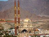 الأوقاف تؤجل افتتاح مسجد الصحابة بشرم الشيخ بسبب سوء الأحوال الجوية