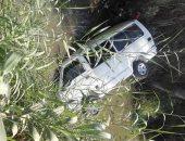 مصرع وإصابة 8 أشخاص إثر انقلاب سيارة فى إحدى الترع بالشرقية
