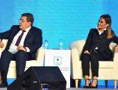 بالصور.. سحر نصر: نبحث مع البنك الأفريقى تمويل تطوير العشوائيات بـ300 مليون دولار