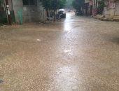 هطول أمطار على شمال محافظة كفر الشيخ
