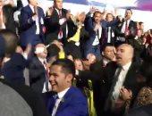 ننشر فيديو احتفال الشباب بعد ختام مؤتمر شرم الشيخ