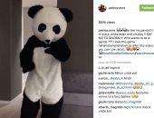 بالفيديو.. باتريس إيفرا نجم يوفنتوس يتقمص دور الباندا لمحاربة العنصرية