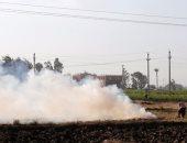البيئة: الأقمار الصناعية تراقب حرق قش الأرز.. وتحرير 178 مخالفة بوسط الدلتا
